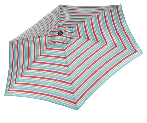 Parasol à bandes multicolores CANVAS Image de l'article