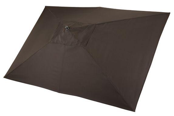 CANVAS Covington Rectangular Patio Umbrella, Brown Product image