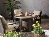 Foyer de table au gaz CANVAS Bangari, 48 po | CANVASnull