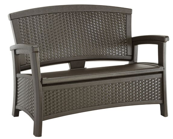 Resin Storage Patio Bench Product image