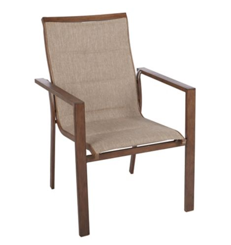 CANVAS Palma Padded Sling Patio Dining Chair Product image