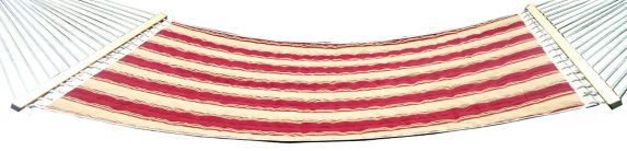 For Living Red & Beige Stripe Hammock Product image