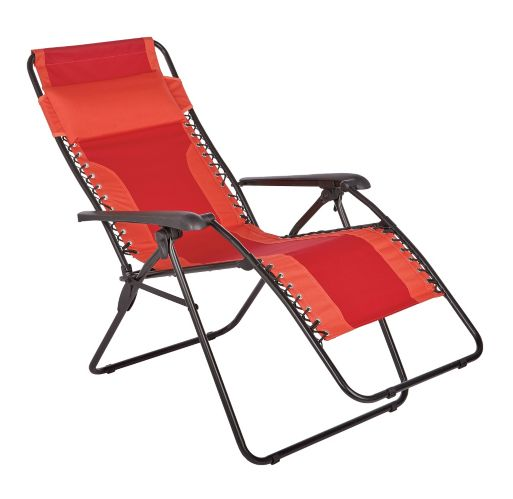 Zero Gravity Patio Chair, Red Product image