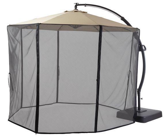 Moustiquaire CANVAS pour parasol Miramar déporté Image de l'article