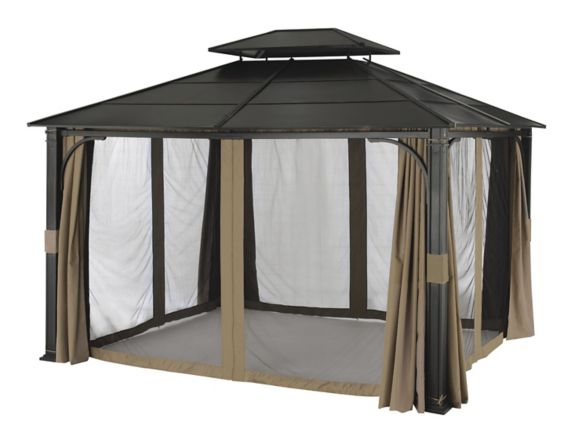 For Living Wind Walls & Netting for Essex Gazebo Product image