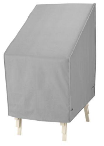 Housse pour fauteuils de terrasse empilables, grise Image de l'article