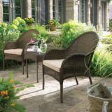 Brynn Resin Wicker Stacked Table | FOR LIVINGnull