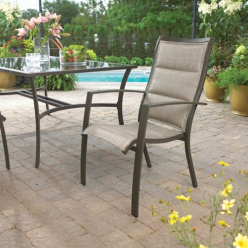 Luca Collection Sling Patio Dining Chair Product image