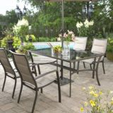 Luca Collection Glass Patio Dining Table | FOR LIVINGnull