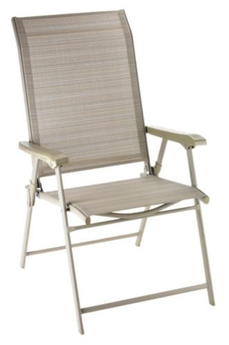 Parker Collection Folding Sling Chaise Lounger Product image