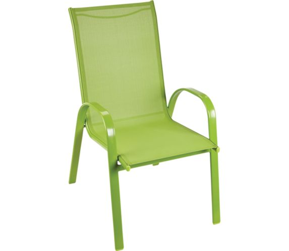 For Living Stackable Patio Sling Chair, Stacking Patio Furniture Canada