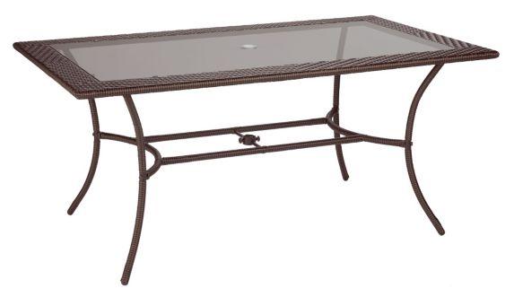 Table de jardin, collection Sedona, 66 x 40 po Image de l'article