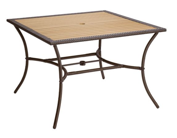 Table de jardin carrée, collection Sedona, 43 x 43 po Image de l'article