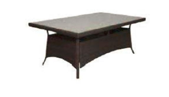 Bordeaux Dining Table, 80 x 40-in Product image