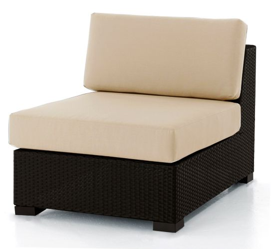 Bordeaux Patio Armless Sectional Product image