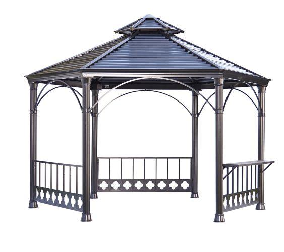Pavillon de jardin à toit rigide Image de l'article