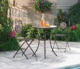 Stone Bistro Folding Dining Set, 3-pc | FOR LIVINGnull
