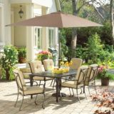 La-Z-Boy Aberdeen Collection Cushioned Patio Dining Chair | Aberdeen Collectionnull