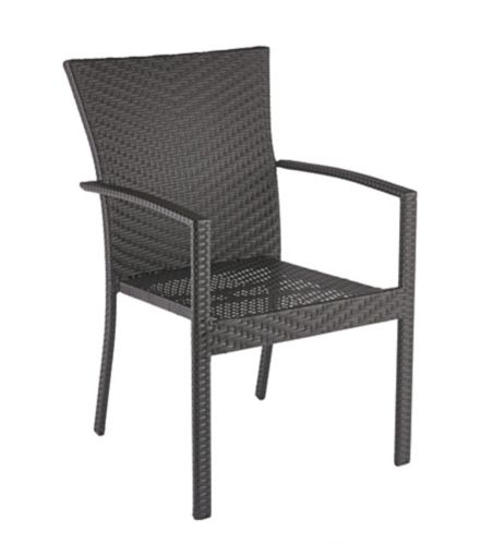 CANVAS Cabana Collection Cashmere Wicker Patio Dining Chair Product image