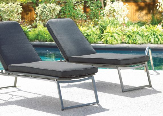 Umbra Loft Collection Woven Patio Lounger with Seat Pad Product image