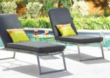 Umbra Loft Collection Woven Patio Lounger with Seat Pad | Umbra Loftnull