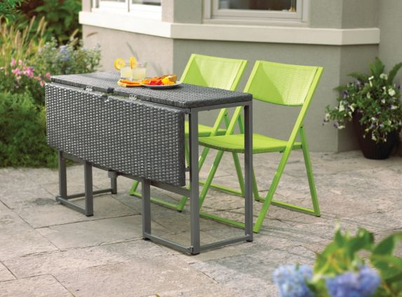 Umbra Loft Collection Woven Folding Patio Table Product image