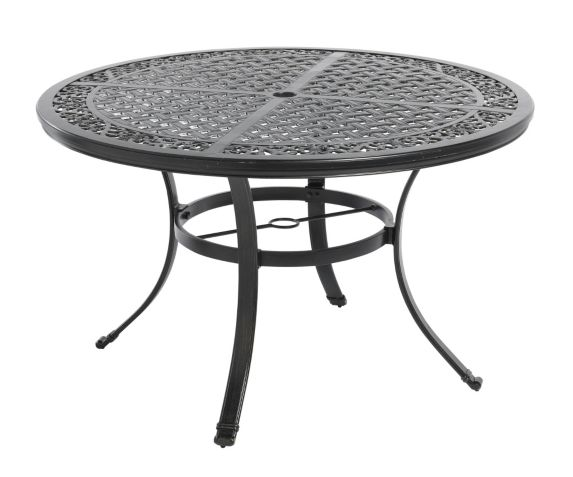 La-Z-Boy Aberdeen Collection Round Cast Dining Patio Table, 48-in Product image