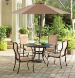La-Z-Boy Aberdeen Collection Round Cast Dining Patio Table, 48-in | Aberdeen Collectionnull