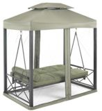 Monterey Collection Day Bed and Swing with Netting, Green | Monterey Collectionnull