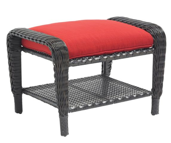 Newport Collection Wicker Patio Ottoman Product image