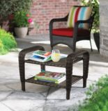 Newport Collection Wicker Patio Ottoman | FOR LIVINGnull