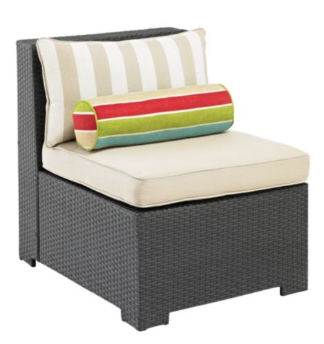 Cabana Collection Wicker Sectional Middle Chair Product image