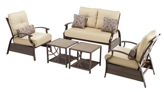 Sienna Collection Patio Conversation Set, 5-piece Product image