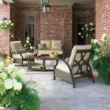 Sienna Collection Patio Conversation Set, 5-piece | FOR LIVINGnull