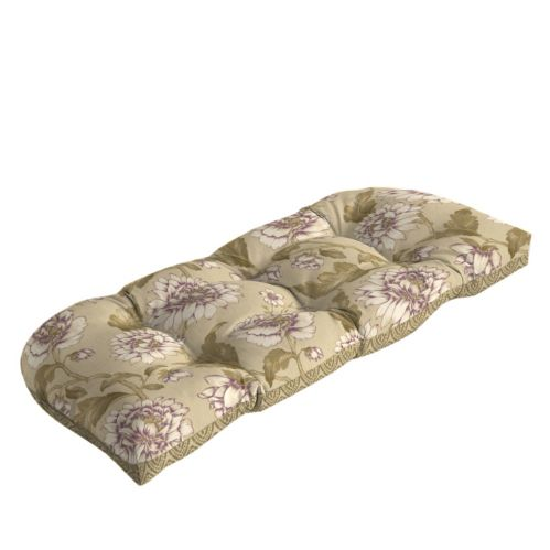 Summerset Collection Wicker Bench Patio Cushion Product image