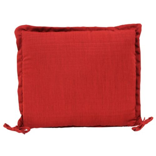 CANVAS Patio Chair Cushion, Red Product image