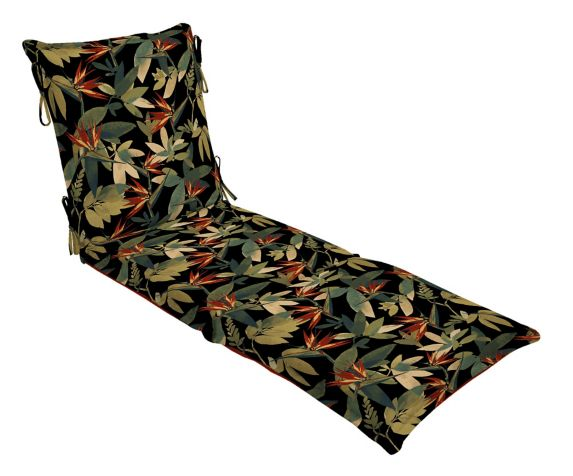 Coussin de chaise-longue tropical Image de l'article