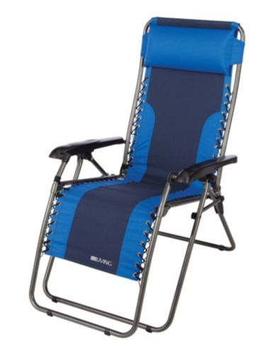 Two Toned Blue Zero Gravity Chair Product image