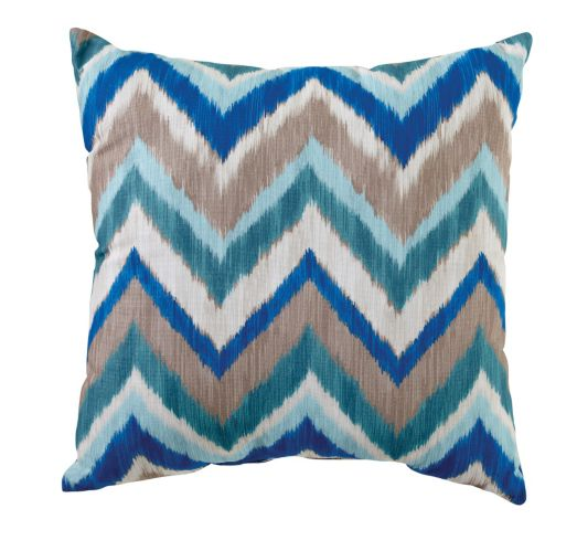 Lakeside Collection Chevron Toss Cushion