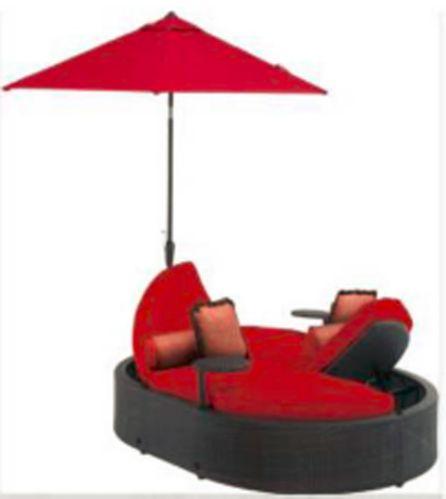 Chaise de jardin double La-Z-Boy Whitley avec parasol Image de l'article