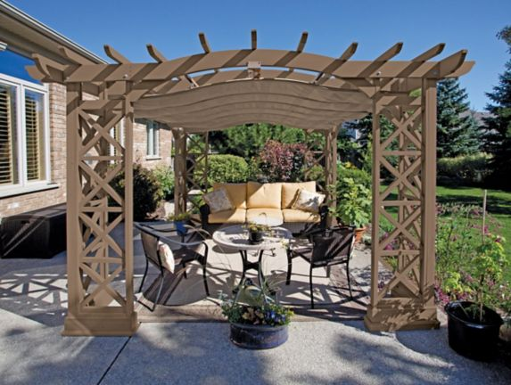 Pergola Room with Retractable Roof Product image