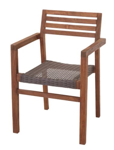 CANVAS Teak Patio Dining Chair Product image