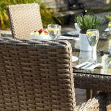 Fauteuil d'appoint de jardin Cebu | Leisure Design Sunbrellanull