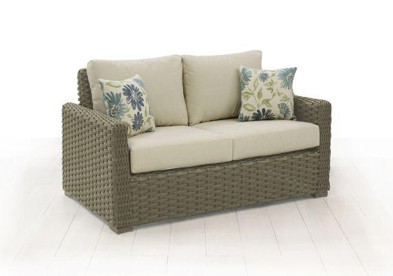 Cebu Patio Loveseat with Toss Cushions Product image