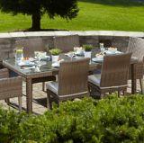 Table à dîner de jardin Cebu, 84 x 40 po | Leisure Designnull