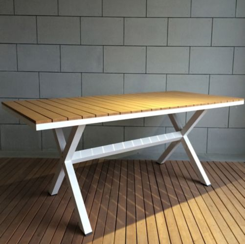 Leisure Design Oasis Patio Dining Table, 86.5 x 39.5-in Product image