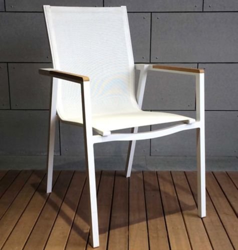 Leisure Design Oasis Patio Sling Dining Chair Product image