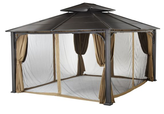For Living Acadia Gazebo Netting And Walls Canadian Tire