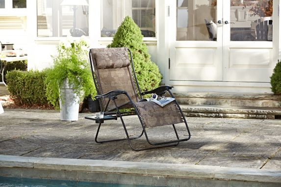 For Living Deluxe Zero Gravity Patio Chair Product image