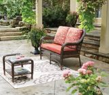 CANVAS Catalina Collection Wicker Patio Loveseat | CANVASnull